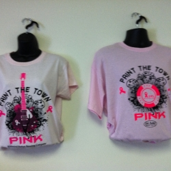 custom awareness and komen t-shirts