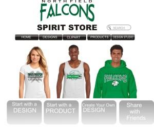 Talkingink.com free custom apparel web store