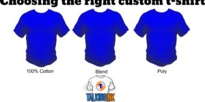 choosing the right custom t-shirt