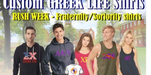 Custom Greek life Shirts