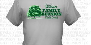Family T-shirts custom printed