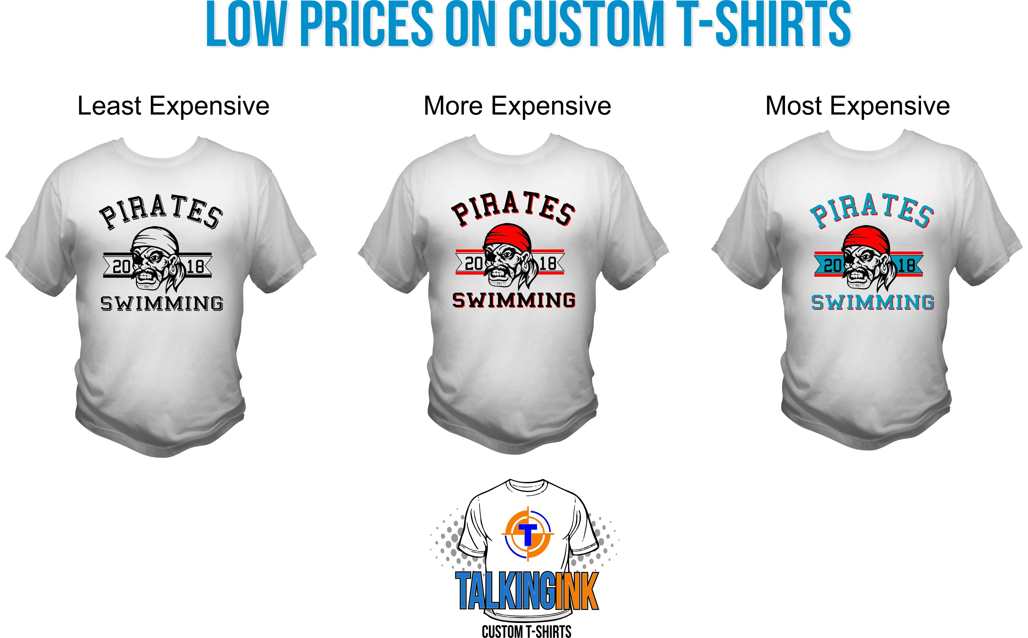 low prices on custom t-shirts