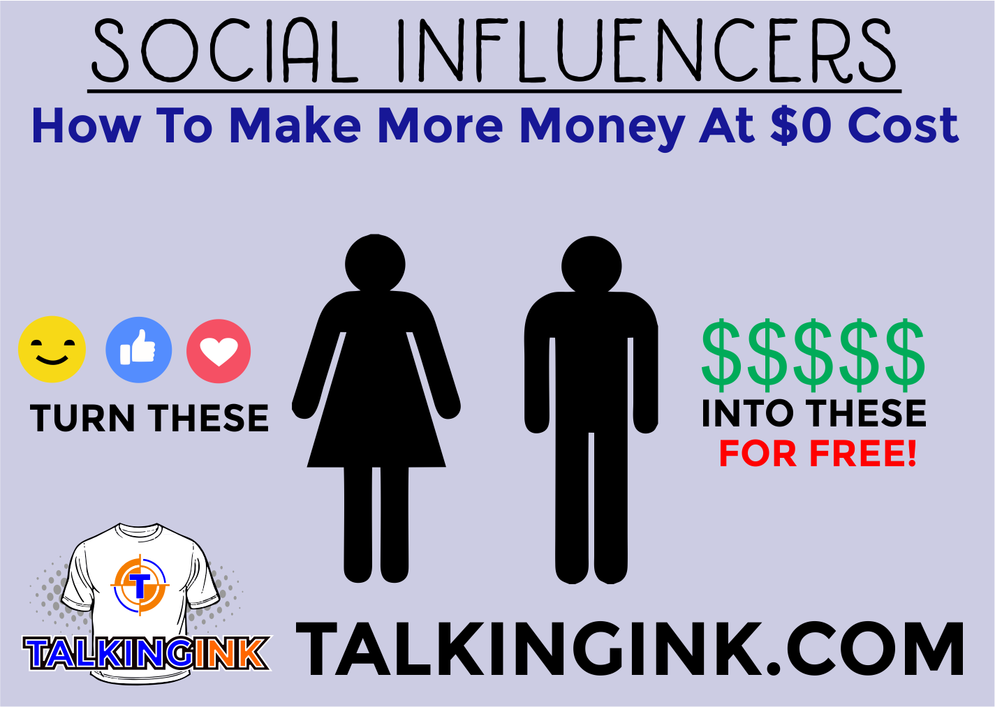 Social Influencers turning likes into money