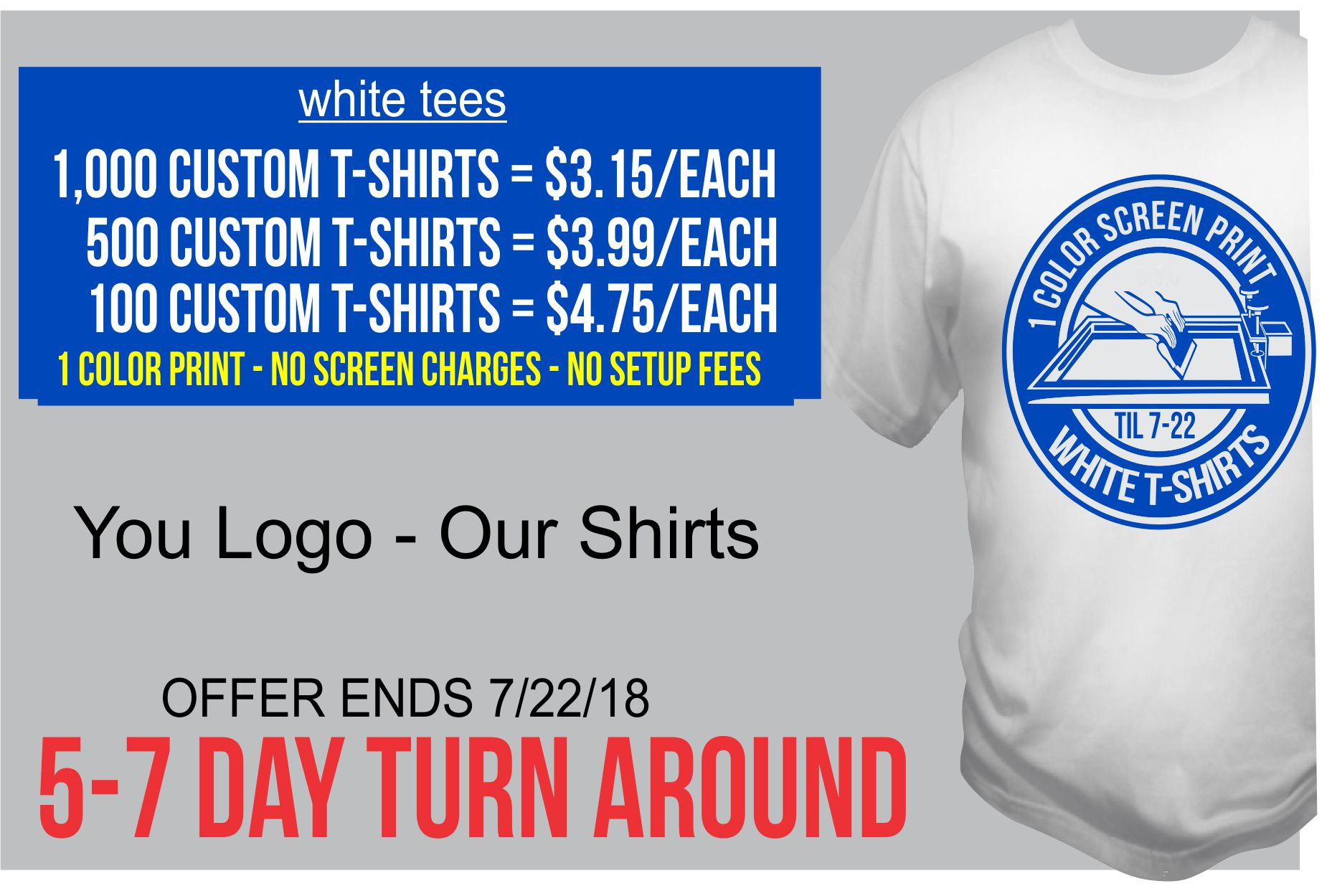 talkingink custom t-shirts white sale shirt printing