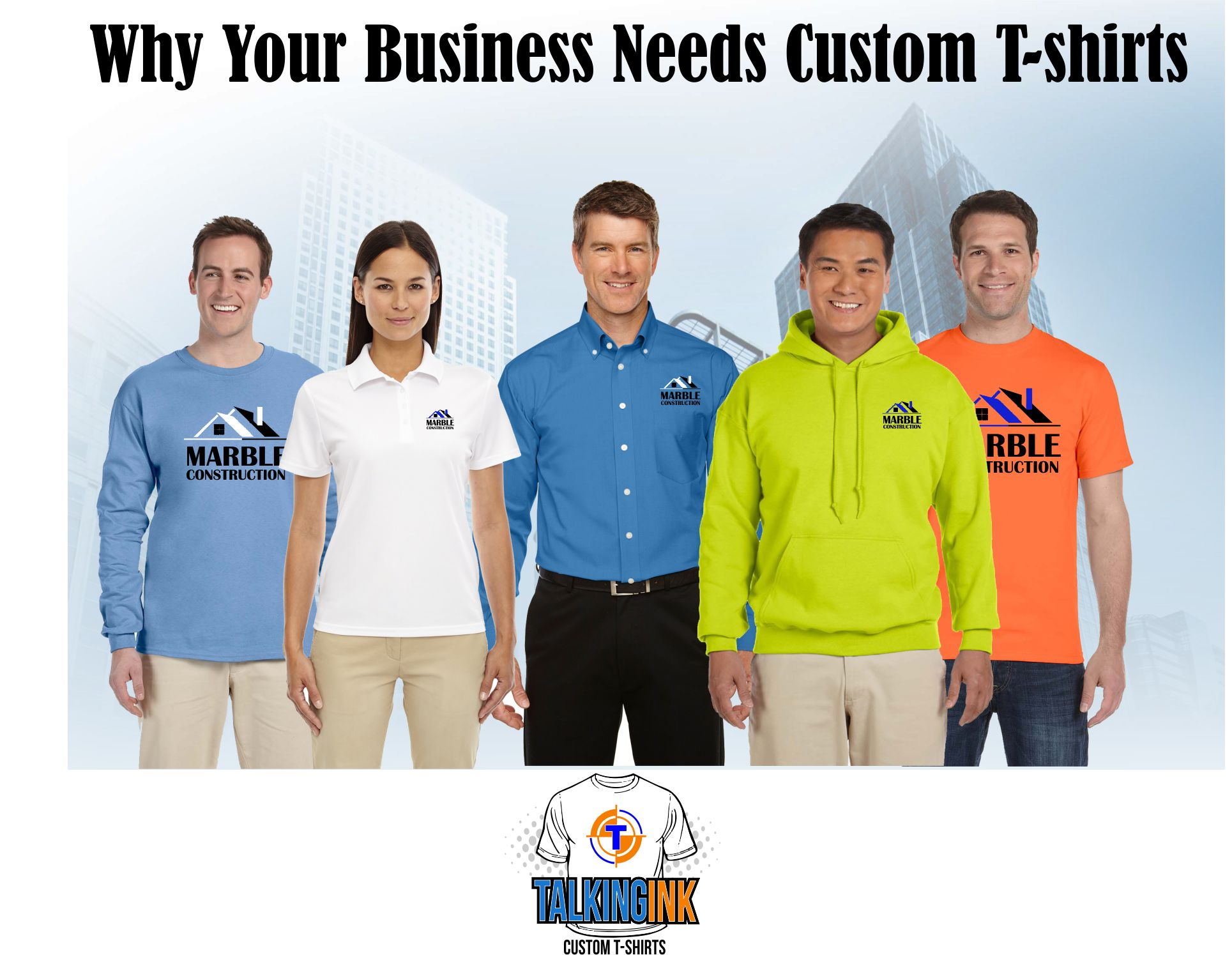 Why your business needs custom t-shirts
