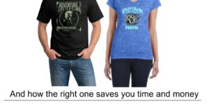 choosing the right shirt printing method