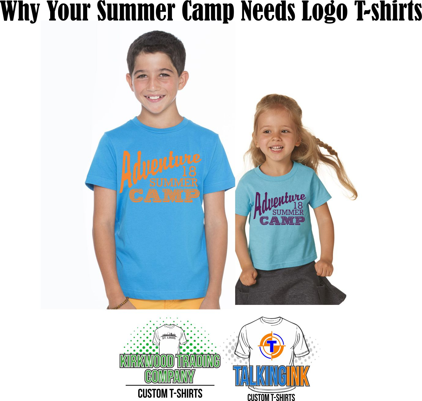 why your summer camp needs logo t-shirts